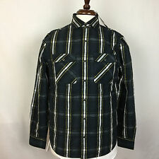 $148 NWT The Men's Store Bloomingdales Lined Navy Flannel Shirt Jacket Small S