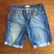 Levis Women's Size 12 Light Fade Jeans Denim Shorts Waist 31""
