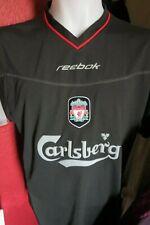 ffc65037f Liverpool FC 2002-03 Reebok Black Away Shirt UK 42 44