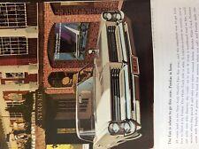 a1w ephemera 1960s advert wide track pontiac car