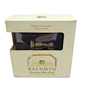 Baldwin Brass Images Edgewater /Seacrest Robe Hook Bathroom NIB