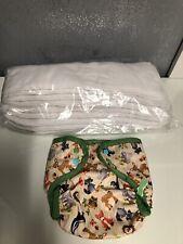 NEW LOT 10 BUM GENIUS CLOTH DIAPER INSERTS ET 1 couche