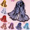 Bohemia Women Lady Long Soft Chiffon Scarf Wrap Shawl Stole Scarves Fashion