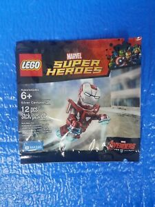 LEGO 5002946 SUPER HEROES Marvel Silver Centurion Iron Man polybag NEW SEALED