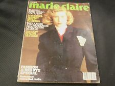1988 OCTOBER MARIE CLAIRE UK EDITION MAGAZINE - #2ND ISSUE - EMMA COVER - O 6046