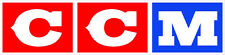 "#k132 4"" CCM Hockey Classic Vintage Decal Sticker LAMINATED Red"