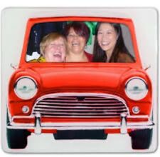Photo Frame Red Mini Car Design New And Boxed Ideal Gift Free Delivery