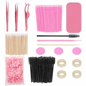 Eyelash Extension Supplies, including Lash Extension Tweezers Set, Disposable