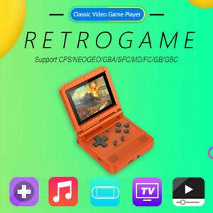 GBA V90 3-inch IPS Screen Retro Handheld Console 16 Simulators 3000+Games 2021