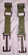 BRITISH MILITARY P37  BRACE ATTACHMENT, PAIR  - post WWII design - used