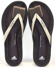 Adidas Fit Foam Thong M22812 Black Tech Gry Mitallic US Size 5 FREE SHIPPING NEW