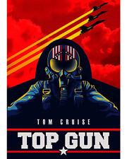 Top Gun - Movie Poster, 8x10 Color Photo