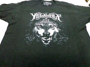 Yelawolf  Slumadian Tour With Fefe  Black Concert T Shirt  Size XL