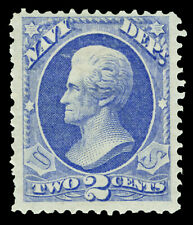 Scott O36 1873 2c Navy Department Official Mint F-VF OG HR Cat $160