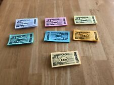 Here & Now Monopoly play money Replacement Crafting Monopoly