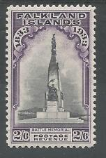 FALKLAND IS SG135 THE1933 GV CENTENARY 2/6d FINE AND FRESH LMM CAT £250