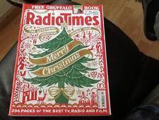 RADIO TIMES CHRISTMAS EDITION 17 DEC 2012 - 30 DEC 2012 . MINT CONDITION