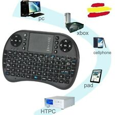Mini Teclado smart tv Inalámbrico 2,4G con Touchpad Air Ratón Tablert Pad Remoto