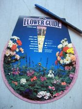 Un-Used Flower Guide Wheel 48 Flowers - See Below For All The Info It Shows