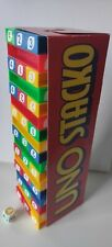 Vintage Uno Stacko Jenga Type Stacking Game 1994 Complete Set Family Game