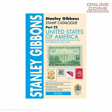 2015 Stanley Gibbons - Stamp Catalogue United States Soft Cover Book 8th Edition