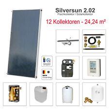 Solarbayer Solar Panel Modul System 24,24m² Warmwasser + Heizungsunterstützung