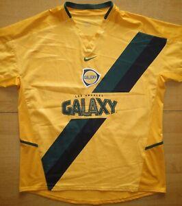 2004 LA Galaxy MLS Nike Size XL Football Shirt Jersey