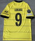 Chelsea Away Shirt Top Jersey Medium 2021-2022 Lukaku 9 100% Authentic BNWOT UCL