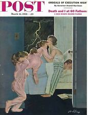 The Saturday Evening Post March 22 1958 Coby Whitmore Vintage Americana