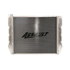 "19"" X 24"" Aluminum Crossflow Radiator High Performance GM Chevy Inlet Outlet HD"
