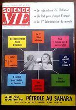 science et vie n°473 du 2/1957; Un rat pour chaque Français/ 1er Marémotrice
