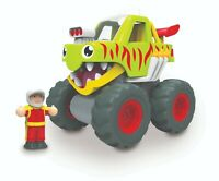 WOW TOYS Mack Monster Truck for 1yrs+, Eco Friendly, Hassle Free Package!