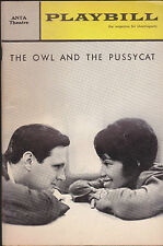 The Owl & the Pussycat Playbill Alan Alda Diana Sands December 1964