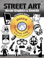 Street Art Vector Graphics & Stencils (Dover Electronic Clip Art), Elder, Jeremy