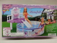 Gloria, Barbie Size Doll House Furniture/(2678) Water Fall Fantasy Pool Set
