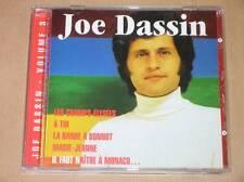 CD / JOE DASSIN / VOL 3 DE L'INTEGRALE / LES CHAMPS ELYSEES / TRES BON ETAT