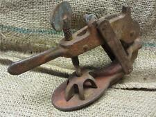 Vintage Tire Tube Repair Tool > Antique Old Iron Tire Gas Station Tools 8547