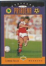 UPPER DECK WORLD CUP USA 1994- #302-DENMARK-FLEMMING POVLSEN