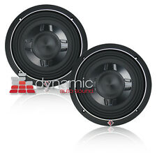 "2 Rockford Fosgate P3SD2-8 Subwoofers 8"" P3SD28 Subs Shallow Mount 600W P3 New"
