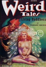 Weird Tales Science Fiction Vintage Fantasy Art Poster 18x24