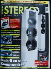 STEREO 1/16,CAMBRIDGE AUDIO TOPAS AM/CD 10,ELAC AIR X 409,B&W 805 D3,STEREOPLAY