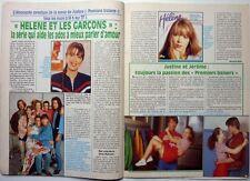 HELENE ET LES GARCONS =>  COUPURE DE PRESSE 2 PAGES 1992