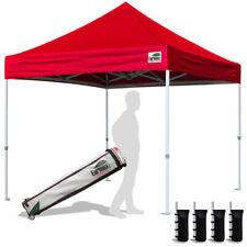 10x10 Ez Pop Up Fair Tent Trade Show Gazebo Shade Tent Camping Canopy Shelter