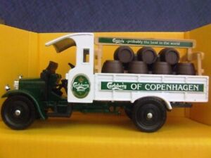 "Vintage Corgi Classics C867/4 - Thornycroft Beer Truck ""Carlsberg of Copenhagen"""