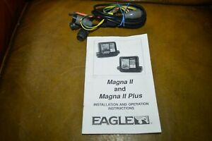 Eagle Magna II ; Magna II Plus Fish Finder Manual and Wire Harness