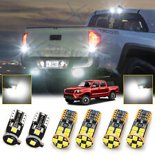 LED License Plate, Backup, High Mount Light Bulb Kit For Toyota Tacoma 2016-2020
