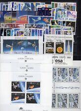 EUROPA: ANNEE 1991 QUASI COMPLETE DE 80 TIMBRES+ 5 BLOCS NEUF** Cote: 295,00 €