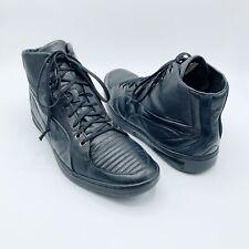 Puma Alexander McQueen Sz 9/42 AMQ Tendon Athletic Shoes Black Leather