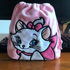 Disney Marie Cat handbag drawstring anime tote makeup bags phone holder