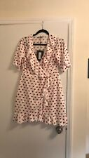 PrettyLittleThing red hearts dress - US SIZE 12